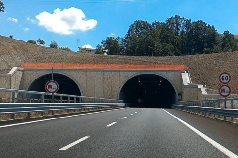 "NATURAL TUNNEL  1° SECTION A3 ""SALERNO – REGGIO CALABRIA"" (PZ)"